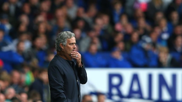 Jose Mourinho appeared unimpressed with Chelsea display