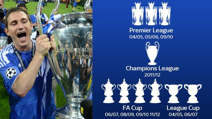 Image result for frank lampard trophies