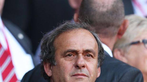 UEFA president Michel Platini believes there was a conspiracy against him to prevent him becoming FIFA president