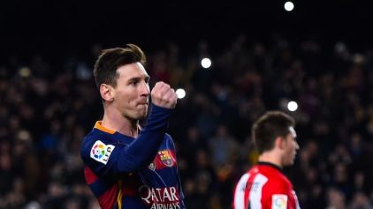 Lionel Messi surprisingly took 23 attempts to win the La Liga monthly gong
