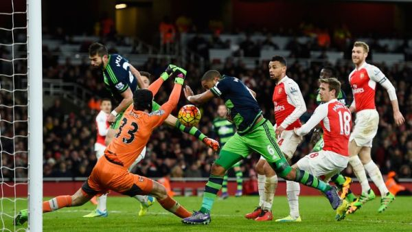 swansea break arsenal hearts with late winner at the emirates