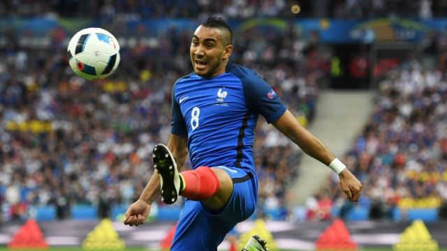 Payet was one of the stars of Euro 2016 playing for France