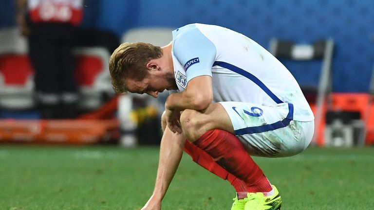 Harry Kane could not find his best form at Euro 2016