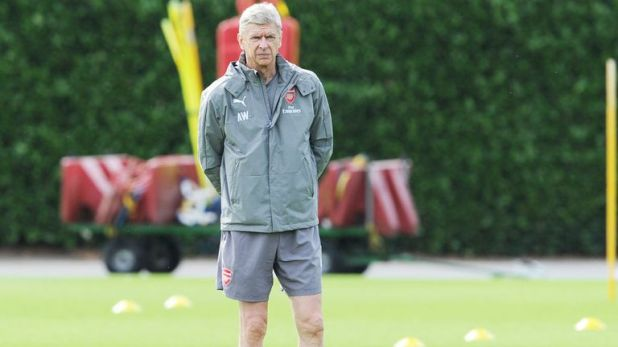 Wenger thinks his Arsenal side and Chelsea are on a similar level