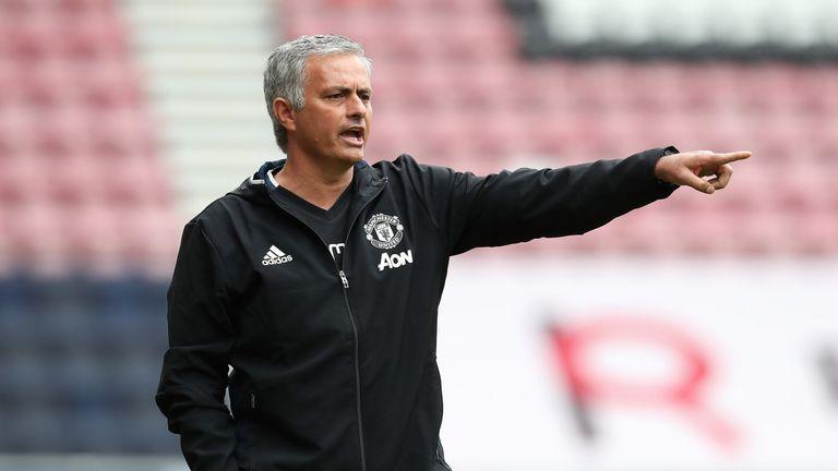 Risultati immagini per jose mourinho manchester united