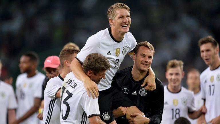 Schweinsteiger recently called time on his international career