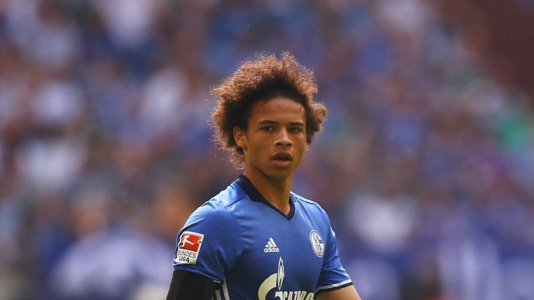 Leroy Sane has signed a five-year deal at Manchester City