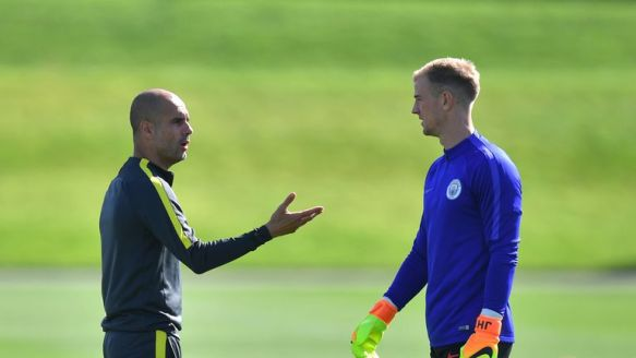Pep Guardiola says dropping Joe Hart was his toughest decision at Man City