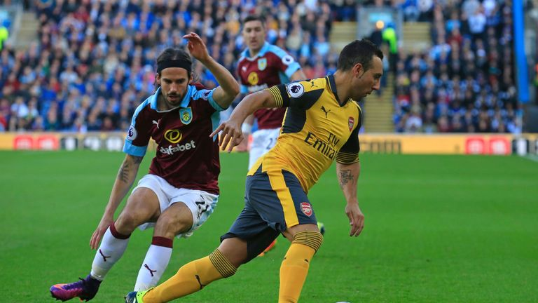 Image result for koscielny handball v burnley
