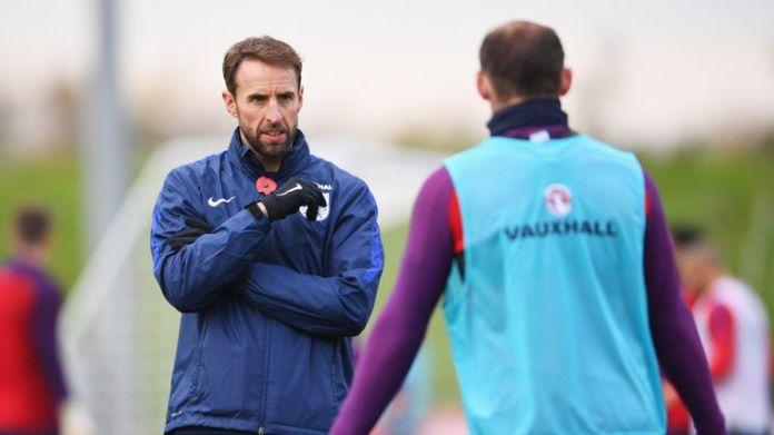Southgate has opted to select Harry Kane, Marcus Rashford, Jamie Vardy and Jermain Defoe