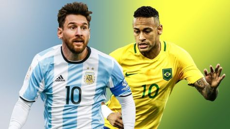 Lionel Messi and Neymar meet in a World Cup Qualifier on Thursday