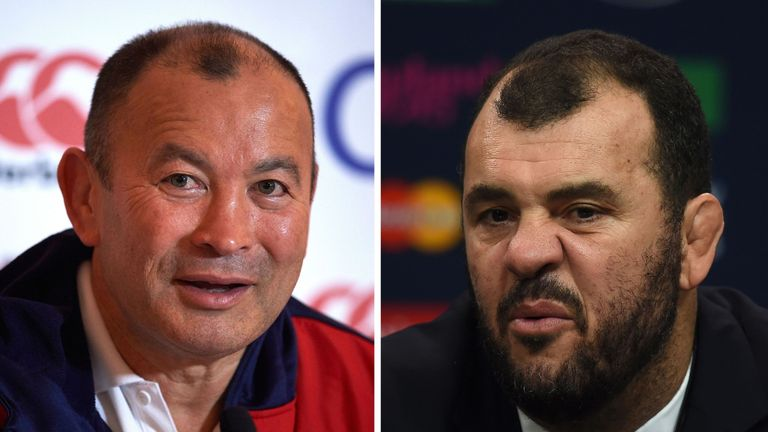 Michael Cheika accused Eddie Jones' England of trying to bully his Australia side