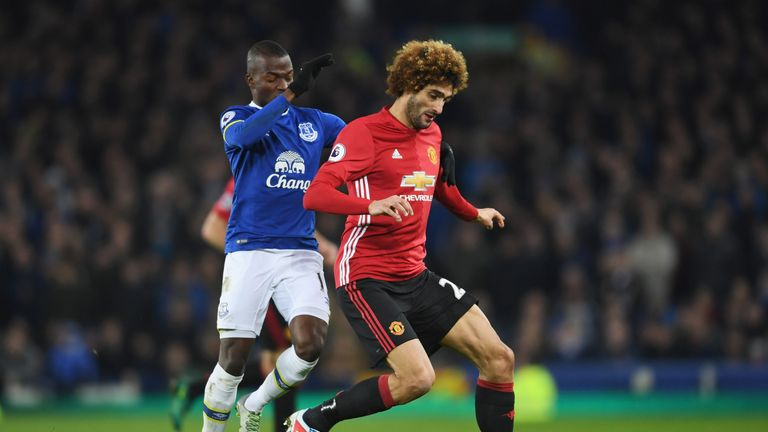 Fellaini conceded a late penalty against Everton last weekend