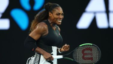 Serena Williams won the Australian Open in January