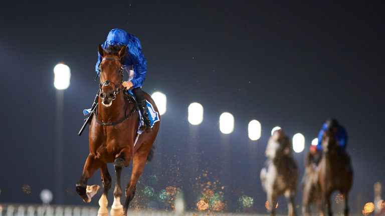 Thunder Snow (Credit: Dubai Racing Club//Andrew Watkins)