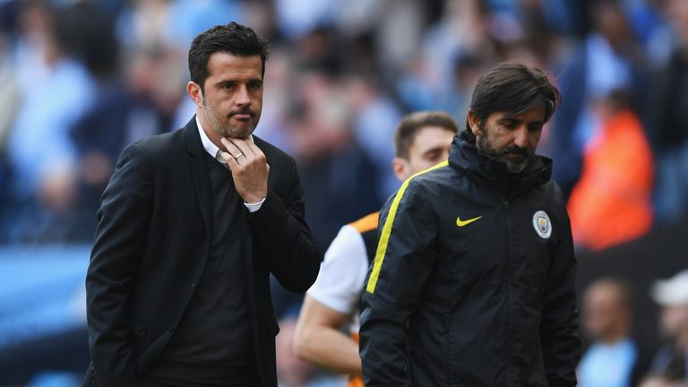 Marco Silva is hoping to keep Hull afloat this term
