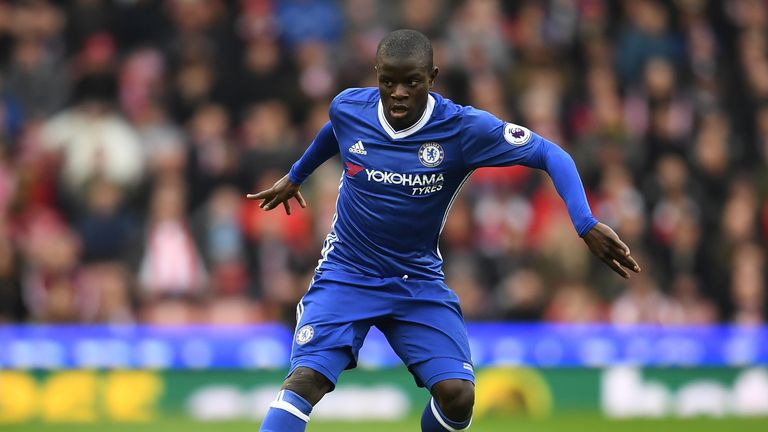 N'Golo Kante is a doubt for Chelsea's match against Middlesbrough