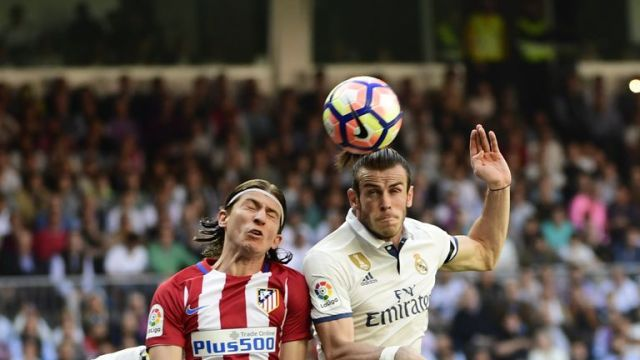 Filipe Luis (left) remains an integral part of Atletico Madrid's side after leaving Chelsea in 2015