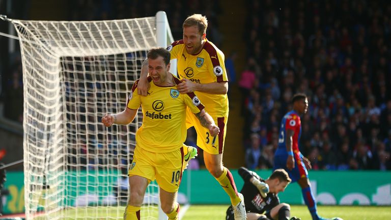 C Palace 0 2 Burnley Match Report Highlights