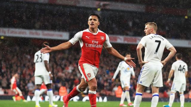 Guardiola would not discuss the future of Arsenal forward Alexis Sanchez
