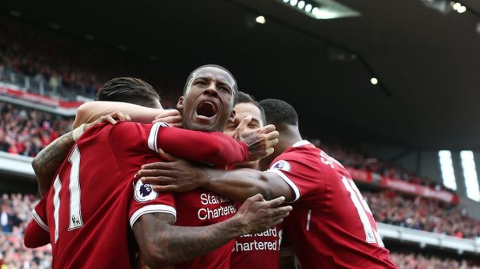 Liverpool beat Middlesbrough on the final day of the season to seal a top-four spot