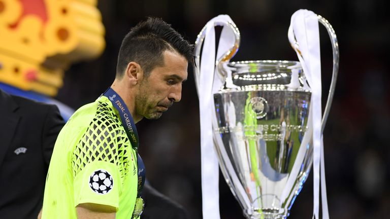 Champions League win is the only thing that could see Gianluigi Buffon extend his career