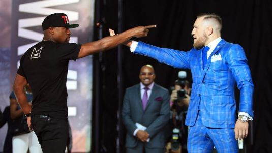 Image result for conor mcgregor floyd mayweather toronto