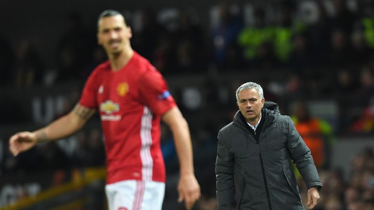 Mourinho confirmed that he did not expect Ibrahimovic to return to the first-team until later in 2017