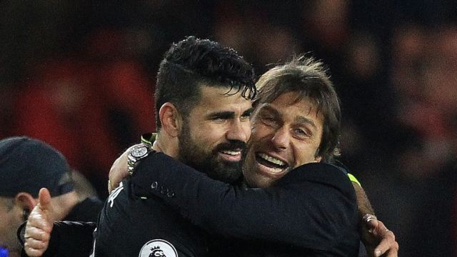 Diego Costa has had his say on his row with Antonio Conte that led to his Chelsea exit