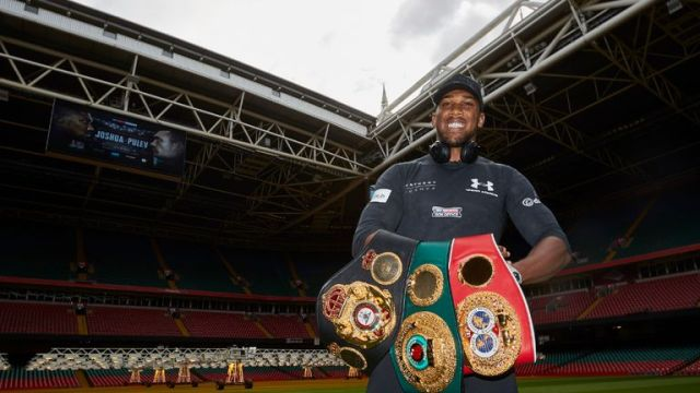 Joshua defends his world titles against Carlos Takam this Saturday night, live on Sky Sports Box Office