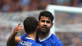 Image result for Hazard wants Diego Costa to make Chelsea return