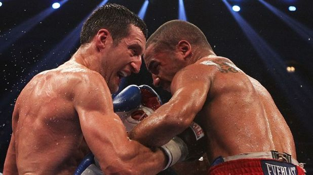 Andre Ward  and Carl Froch unified their super-middleweight world titles in Atlantic City in 2011.