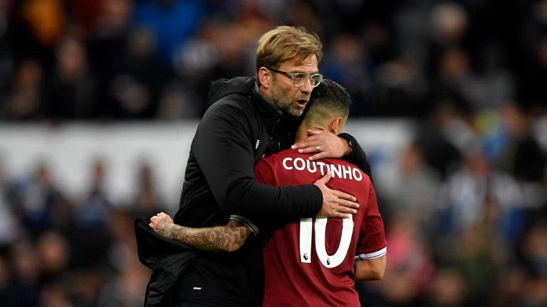 Coutinho has reintegrated himself into the Liverpool squad and scored three goals this term