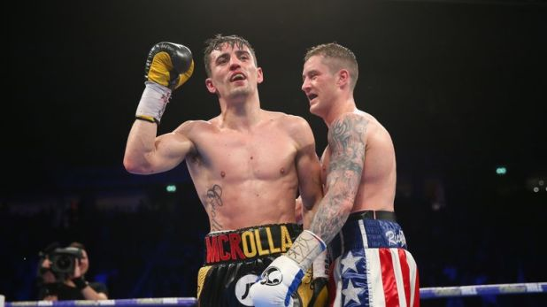 Anthony Crolla and Ricky Burns are both on the card