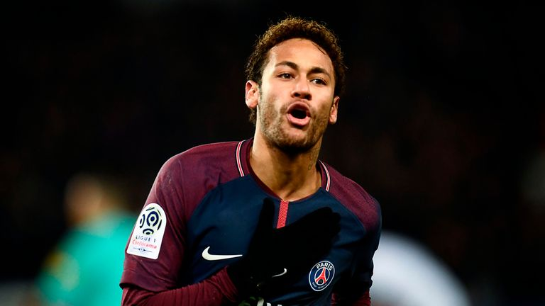 Neymar joined PSG for £200m in August 2017