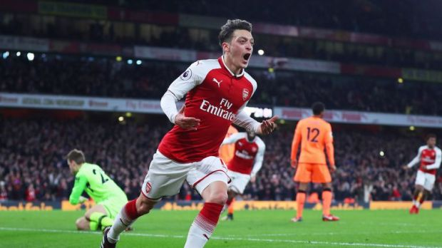 Mesut Ozil's contract expires at the end of the season