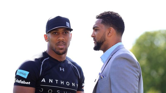 Former quarterback Dominic Breazeale sized up well to Anthony Joshua but was stopped in June 2016