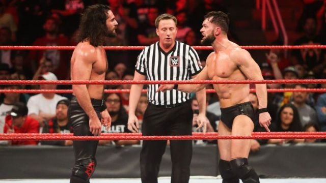 Seth Rollins and FInn Balor were involved in a controversial ending to Monday Night Raw