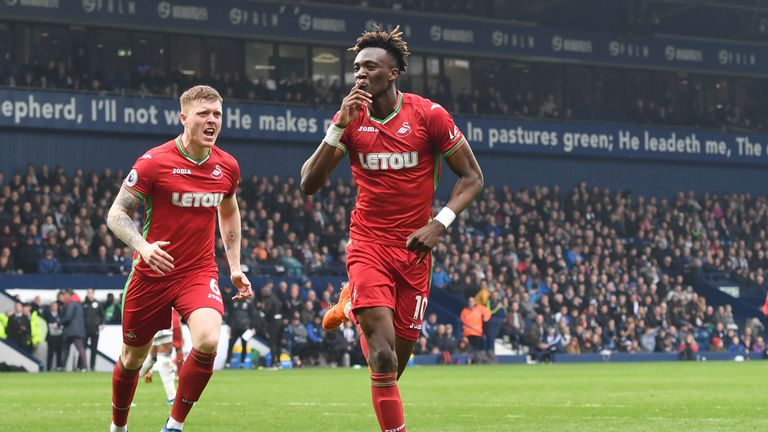 The equaliser was Abraham's first Premier League goal since October