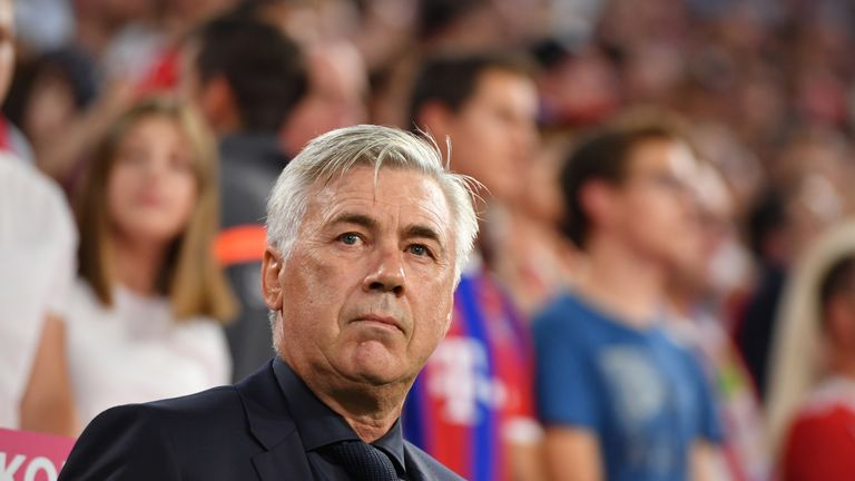 Former Bayern Munich Boss Carlo Ancelotti Offered Italy