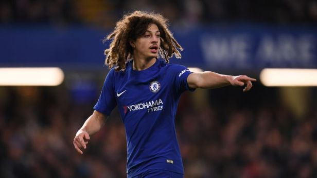Ethan Ampadu joined Chelsea from Exeter last summer