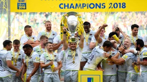 Barritt led Saracens to their fourth Premiership title on Saturday
