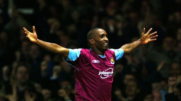 Defoe played for West Ham between 1999 and 2004