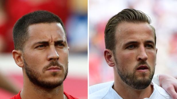 Eden Hazard could come up against Harry Kane with a bronze medal at stake