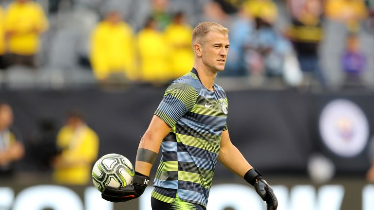 Joe Hart seems likely to move to Burnley