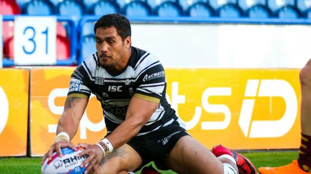 Bureta Faraimo scored Hull FC's first try of the night