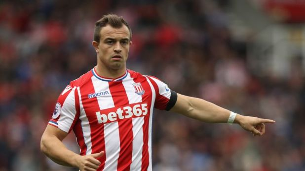 Liverpool have completed the signing of Xherdan Shaqiri