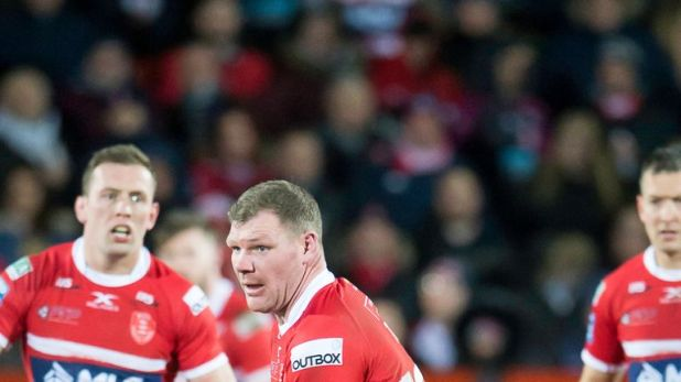 Danny Tickle is one of nine players who are leaving Hull KR