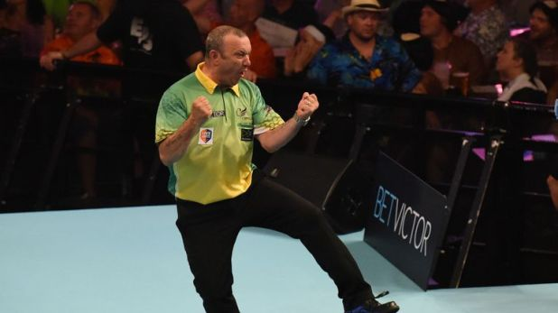 Darren Webster defeated Rob Cross en route to reaching the Matchplay quarter-finals last year