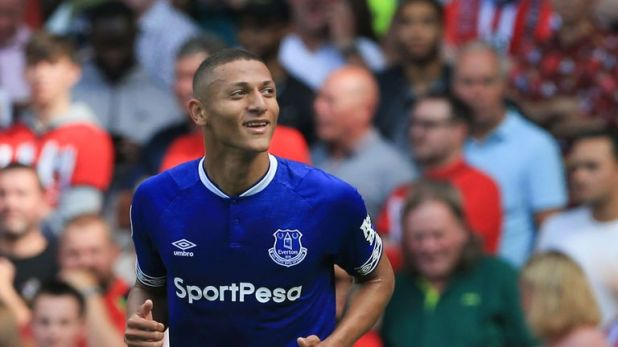 Richarlison scored his third goal in two games following a £40m move from Watford